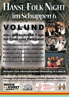 Plakat Musik & Kunstschule Lübeck