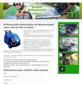 Mobile Dampfautowäsche