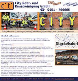 City Rohr - und kanalreinigung Lübeck
