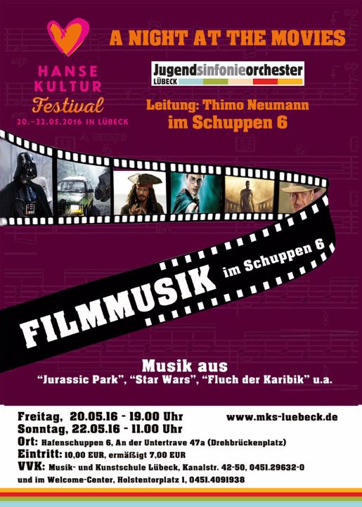 Musik - und Kunstschule Lübeck - Werbung Veranstaltung Hanse Kultur Festival