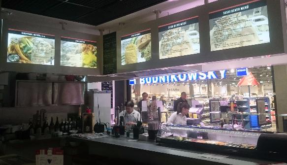 Backlits  - Sushibar Hamburg